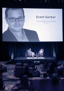 Scott Gerber Speaks At An Event